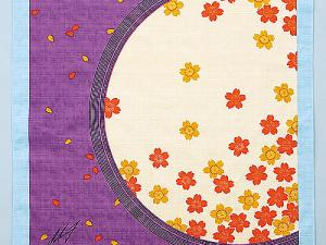 Japanese Wrapping Cloth Mini FUROSHIKI, purple