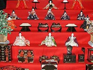 Japanese Traditional Doll Festival