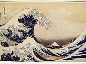 HOKUSAI --- The Great Wave off Kanagawa