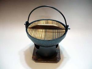 Japanese Traditional Style IRORI (cooking pan)
