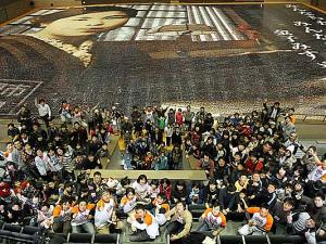 Broke GUINNESS! Huge Mosaic Art with 120,000 Photos