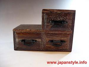 Japanese Traditional Mini Chest, accessory box