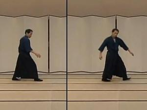 Namba Aruki - a Style of Walking Practiced in Old Times in Japan
