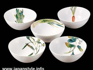 Japanese NORITAKE Porcelain Bowl Set