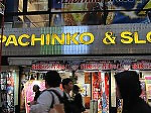PACHINKO  --- Japanese Upright Pinball Game