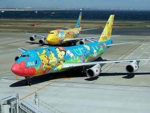 POKEMON Airplanes, Trains, Cars in Japan