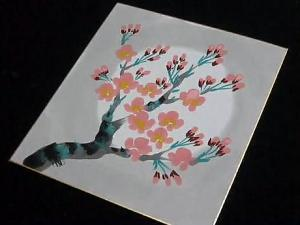 How to Paint Japanese Style Cherry Blossoms in 5 Minutes