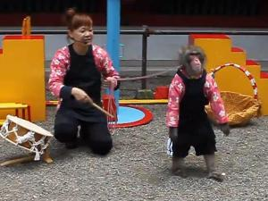Monkey Performance by Yuriariku