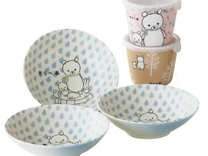 Kawaii! Kid's Bowl &amp; Free Cup by Shinzi Katoh