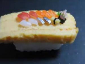 Miniature Real Sushi Platter in a Mint Case
