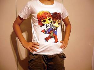 Cute! Manga T-shirts for Kids (part 2)