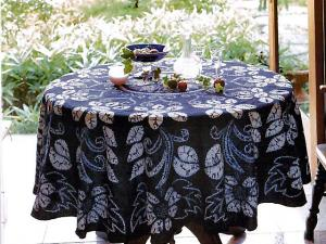 Japanese Indigo Dyeing Tablecloth