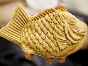 Japanese Fish Shaped Cake TAIYAKI Is Hot Now