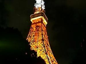 Tokyo Tower --- A famous landmark of Tokyo!