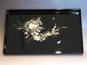 Japanese Traditional Style Tray (OBON), made in JAPAN