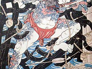 Ukiyo-e Prints of Strong Men Popular in Edo Period : Part 1