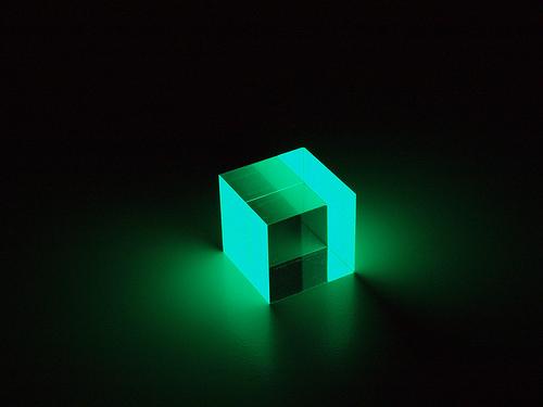 b labo glowing cube japan style