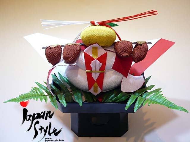"Japanese New Year Decoration ""Kagami Mochi"" Set 