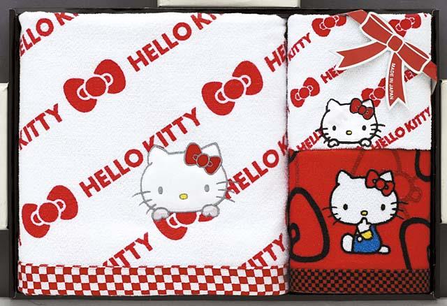 3b676ee9e Japanese Hello Kitty Bath Towel Set sanrio kawaii | Japan Style