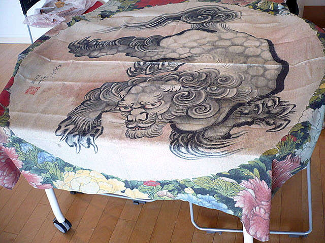 Hokusai Table Cloth