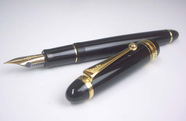 Fountain pen custom 743-pole bold BB black axis FKK3000RBBB Free Shipping EMS