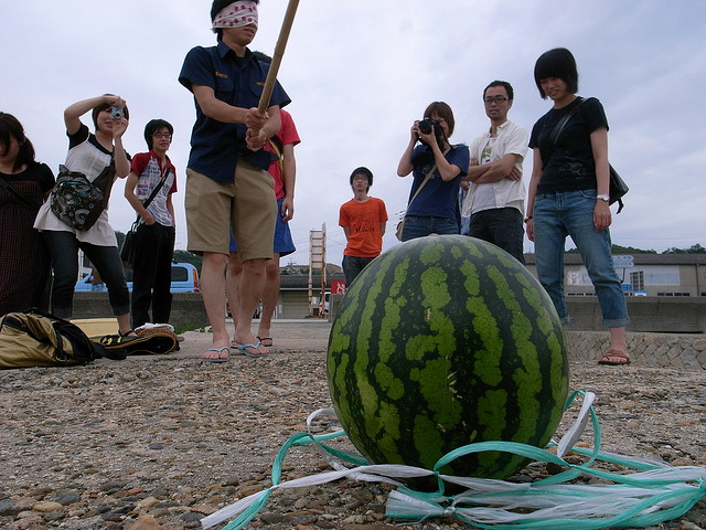 What Is The Origin Of Suika Wari Or Watermelon Cracking Of